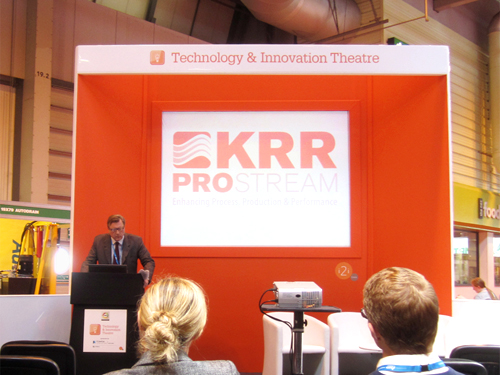 Robin Presents at RWM2012